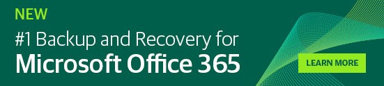 Backup and Recovery for Microsoft Office 365 banner