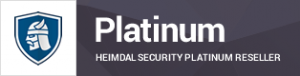 Comit har den højeste status, Platinum Partner, ved Heimdal Security