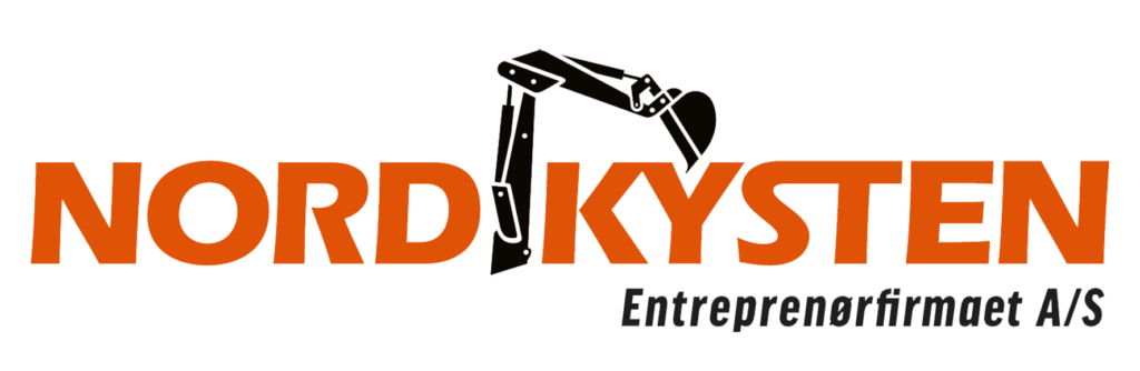 Entreprenørfirmaet Nordkysten - logo